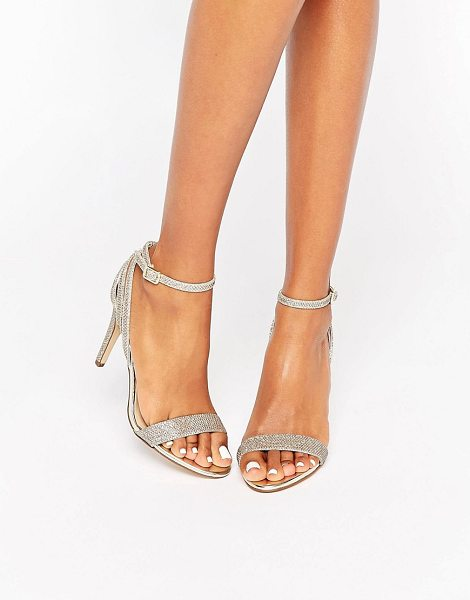 New Look Gold Barely There Heel in gold