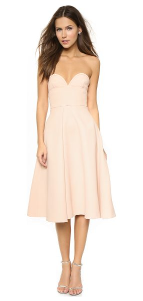 NICHOLAS Double bonded bustier dress - This strapless Nicholas dress has an exaggerated...