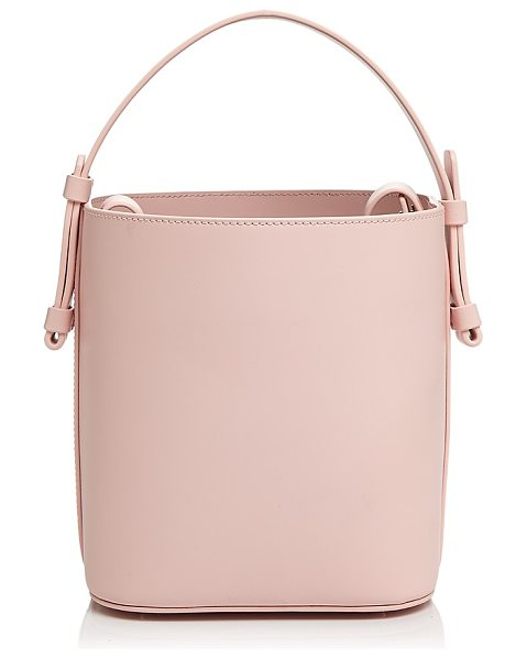 Nico Giani Adenia Medium Leather Bucket Bag in pale pink - Nico Giani Adenia Medium Leather Bucket Bag-Handbags
