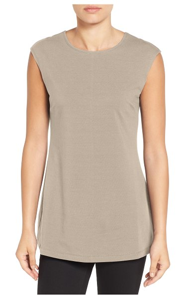 Nic+Zoe perfect layer tank in beige