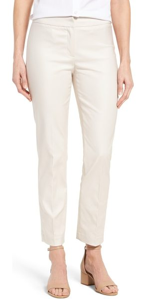 Nic+Zoe the perfect ankle pants in sandshell - Versatile stretch-woven pants offer everyday polish in a...