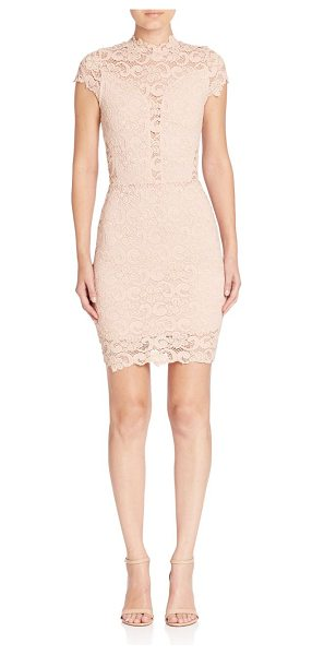 NIGHTCAP dixie lace 16th district dress - Intricate lace details add style to this fitted...