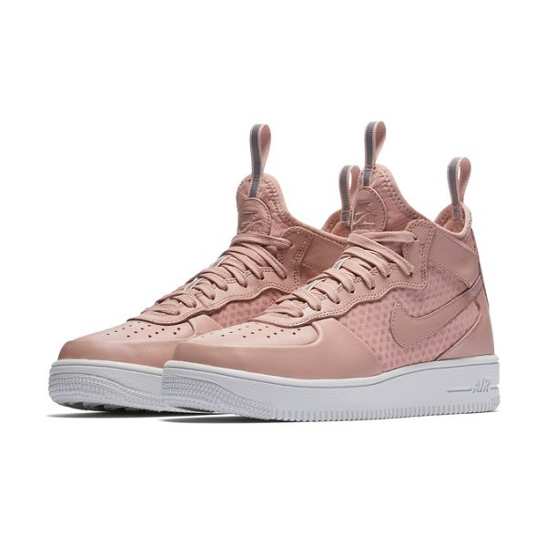 Nike air force 1 ultraforce mid sneaker in particle pink/ pink/ sail - First released in 1982, the original Air Force 1 sneaker...
