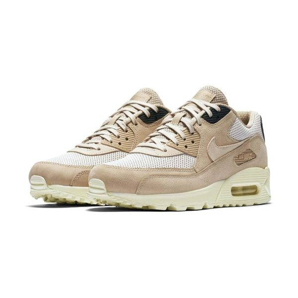 Nike air max 90 pinnacle sneaker in mushroom/ oatmeal/ light bone - An iconic running shoe from the '90s has been adapted as...