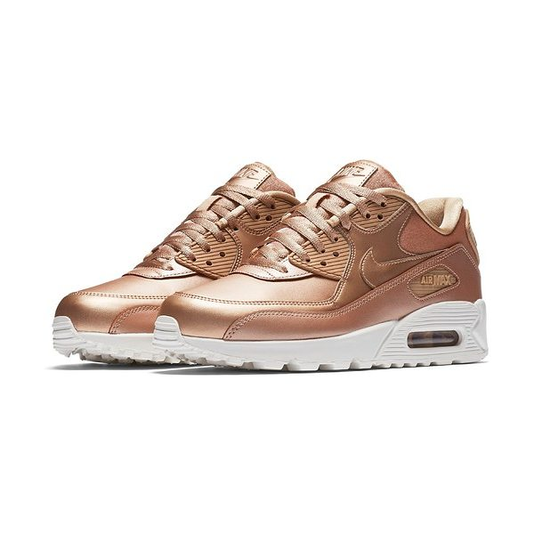 Nike air max 90 premium sneaker in mtlc redbronze/ mtlc redbronze - Built for supreme comfort, this iconic sneaker-offered...