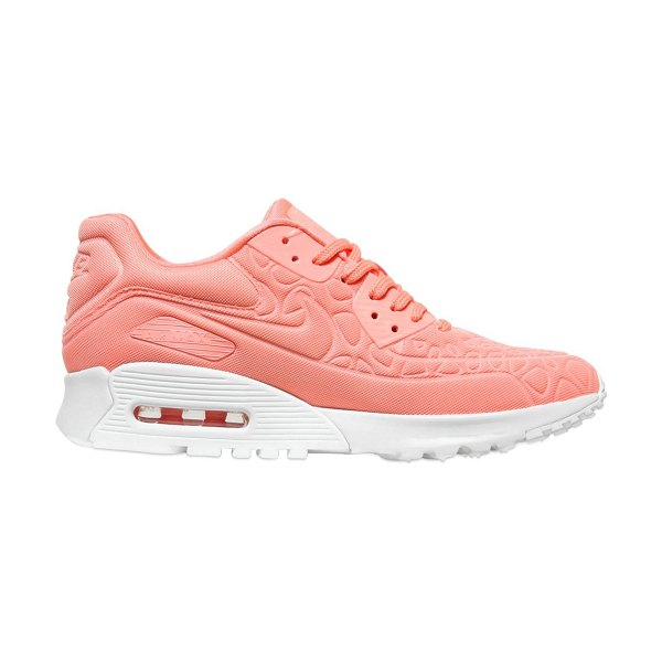 Nike Air max 90 ultra sneakers in salmon pink - Embossed upper. Logo details. Visible air chamber . Rubber sole