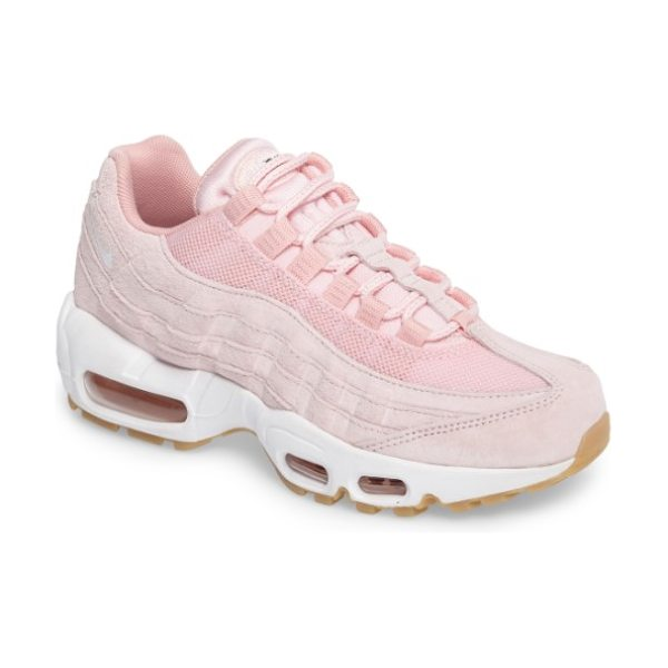 Nike air max 95 sd sneaker in prism pink/ white - Visible Max Air units throughout the midsole provide...
