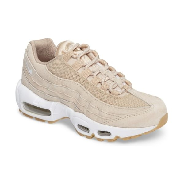 Nike air max 95 sd sneaker in oatmeal/ white - Visible Max Air units throughout the midsole provide...