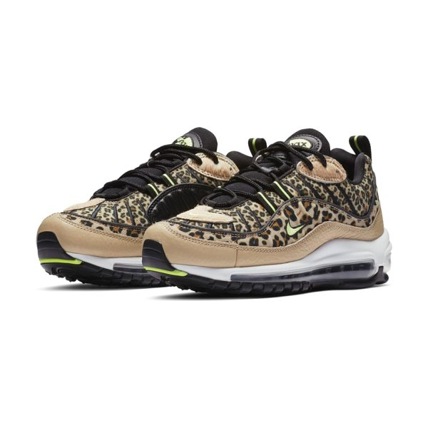 Nike air max 98 premium sneaker in brown - An explosion of colors, patterns and textures breathes...