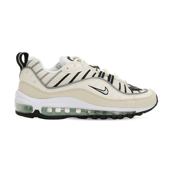 Nike Air max 98 sneakers in beige - Inspired by the 1998 Air Max sneaker. Leather and mesh...