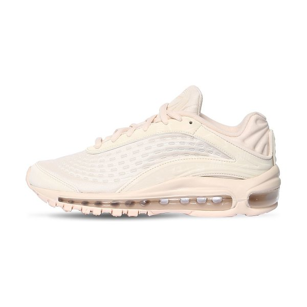Nike Air max deluxe sneakers in light pink - Inspired by the Air Max 99. Fabric upper. Padded tongue....