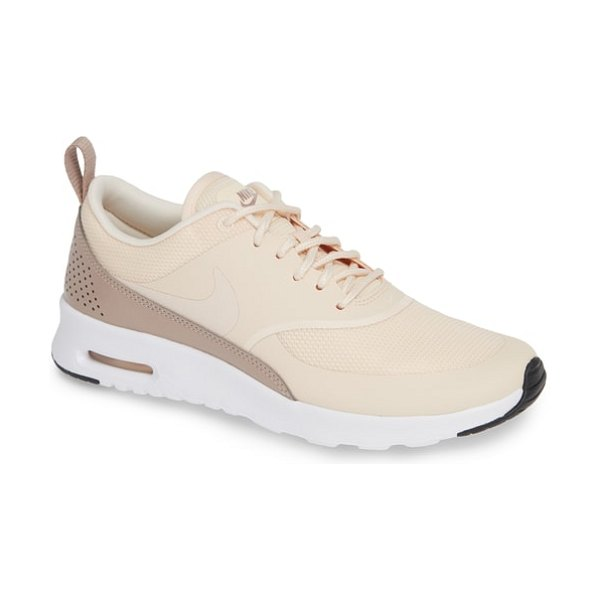 NIKE air max thea sneaker in guava ice/ taupe/ black - A sporty low-profile sneaker features breathable mesh...