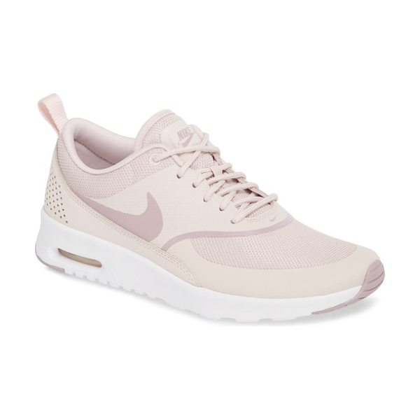 Nike air max thea sneaker in barely rose/ elemental rose - A sporty low-profile sneaker features breathable mesh...