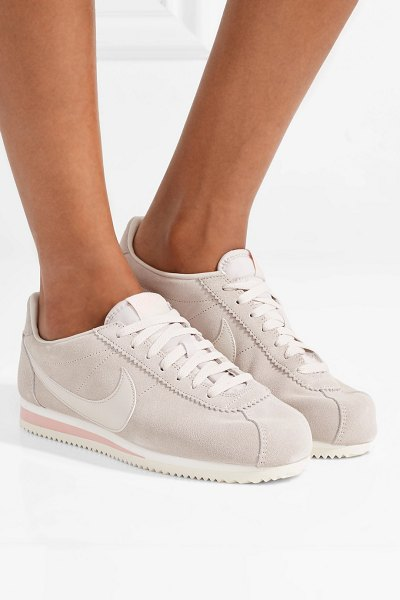 Nike Classic Cortez Suede And Leather Sneakers  412ad701f