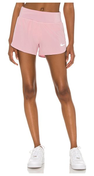 Nike eclipse 3 short in pink glaze