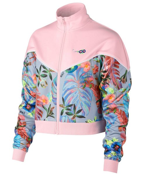 Nike hyper femme crop jacket in pink - Whether you're training for a tropical destination...