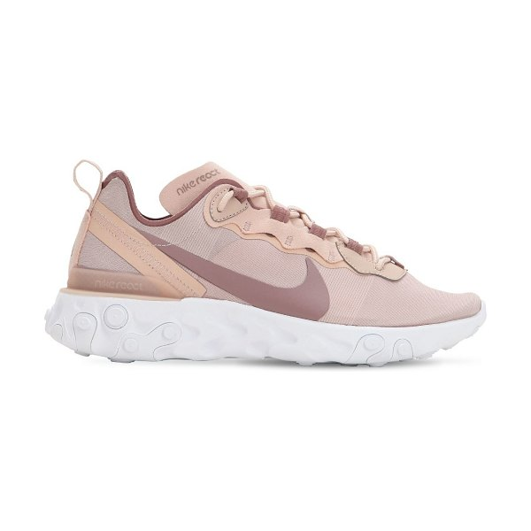 Nike React element 55 sneakers in pink
