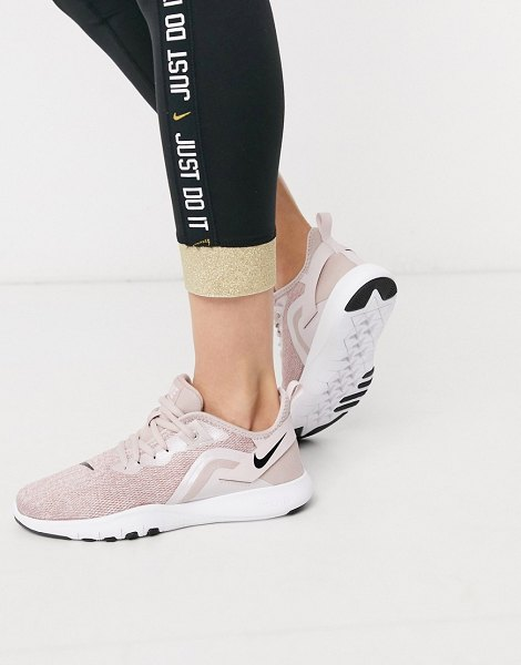 Nike Training flex sneakers in rose gold-pink in pink