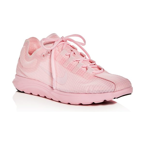 Nike Women's Mayfly Lite Lace Up Sneakers in prism pink - Nike Women's Mayfly Lite Lace Up Sneakers-Shoes
