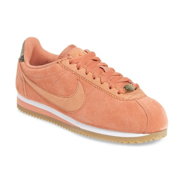 Nike x a.l.c. classic cortez sneaker in terra blush/terra blush-white - Nike teams up with celebrity stylist-turned-designer and...