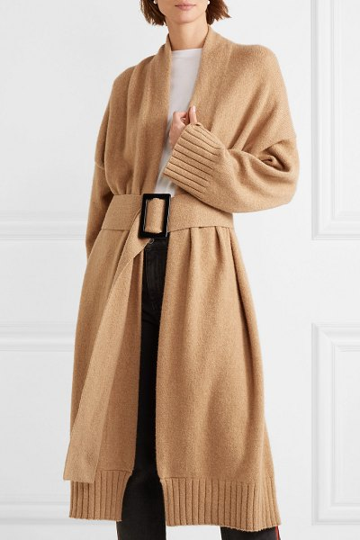 Nili Lotan allana belted cashmere cardigan in camel - Nili Lotan's 'Allana' cashmere cardigan is so soft and...