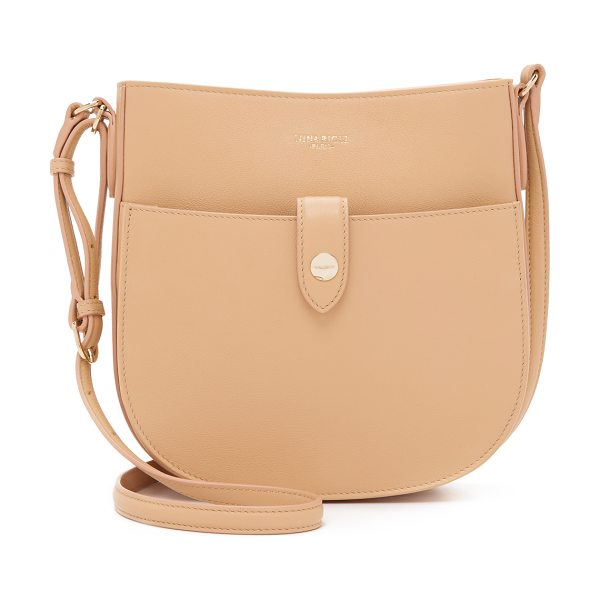 Nina Ricci Cross body saddle bag in camel