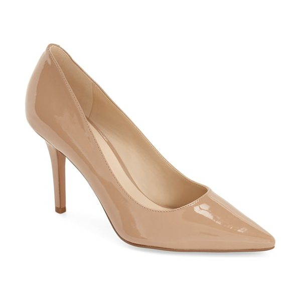 Nine West jackpot pointy toe pump in light natural - Elevate your work or evening style with a go-to pump...