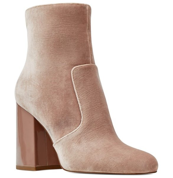 NINE WEST jilene bootie - Clean lines and minimalist styling play up the must-have...