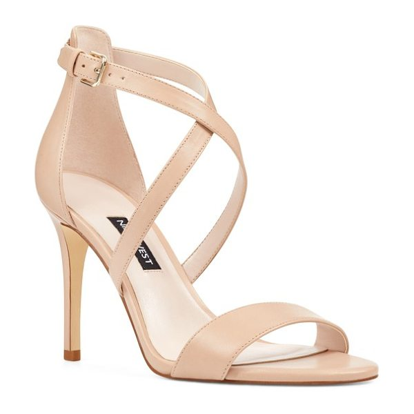 Nine West mydebut strappy sandal in beige