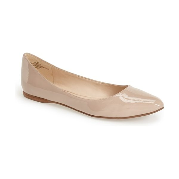 NINE WEST speakup flat - A classic pointy-toe flat effortlessly pairs with both...