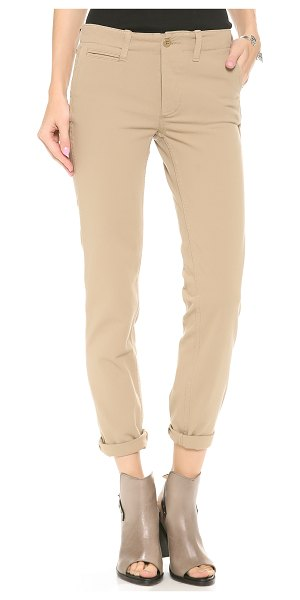 NLST Relaxed chinos in khaki - Styled in a loose silhouette, these 4 pocket NLST chinos...