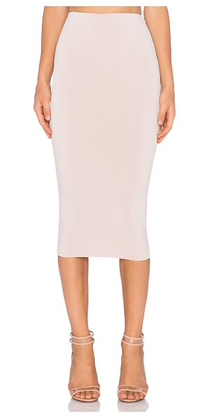 "NOOKIE Dolce vita pencil skirt in beige - 94% poly 6% spandex. Skirt measures approx 28"""" in..."
