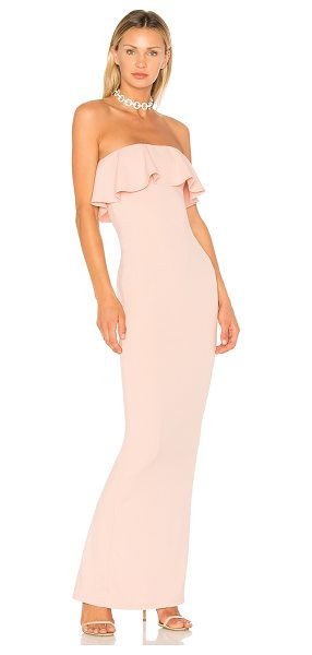 Nookie Hermosa Gown in blush
