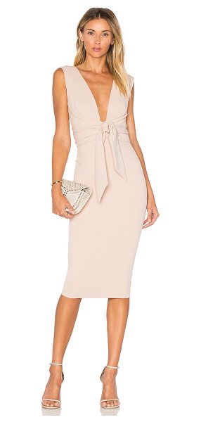 Nookie Royal Midi Dress in beige