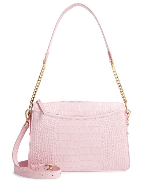 Nordstrom lola leather crossbody bag in pink