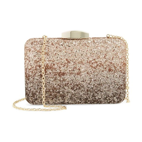 Nordstrom ombre glitter miniaudiere in rose gold - A classic miniaudiere with ombre shimmer lets you take...