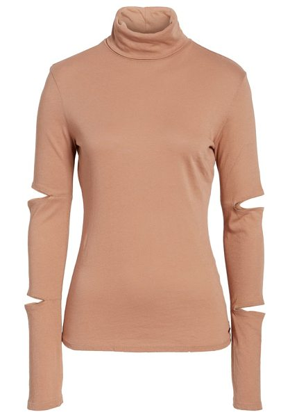 N:PHILANTHROPY easton cutout turtleneck - Cutouts on the extra-long, slouchy sleeves add edgy...