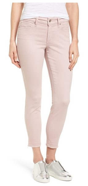NYDJ ami release hem jeans in rose dust - Stylishly unstructured hems add a bit of edge to these...