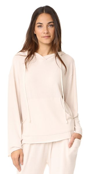 NYTT classic hoodie in bone - This loose NYTT sweatshirt is composed of super-soft...