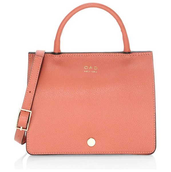 OAD mini prism top handle bag in rose wood - A mini version of our classic Prism: Crafted from...