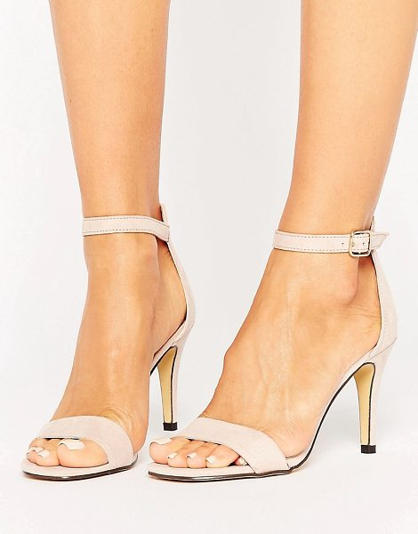 OASIS Barely There Sandals - Sandals by Oasis, Faux-suede upper, Barely there...