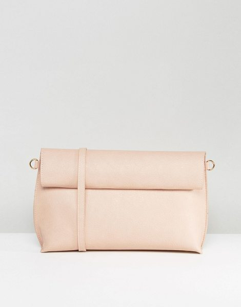Oasis Reversible Clutch Bag in beige - Clutch bag by Oasis, Faux leather outer, Reversible...