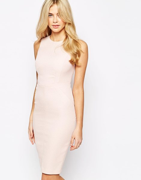 OASIS Textured pencil dress - Dress by Oasis Stretch textured fabric Fully lined Crew...