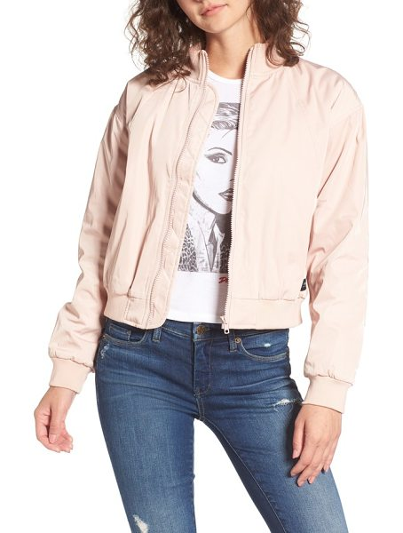 OBEY mako bomber jacket - The season's must-have jacket-this relaxed bomber keeps...