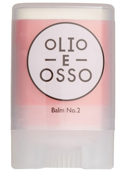 Olio E Osso lip & skin balm in pink - What it is: A super-emollient lip and skin balm created...