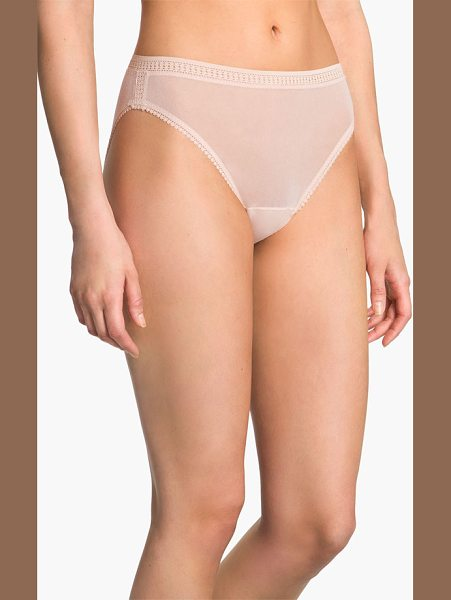 On Gossamer high cut briefs in beige