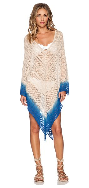 ONDADEMAR Caftan - 100% cotton. Hand wash cold. Unlined. Hooded. Asymmetric...