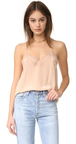 ONE by CAMI NYC lace racer camisole in nude - Description CAMI NYC , selected for Shopbops ONE by...