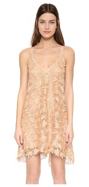 ONE by Jessica lace cami dress in blush - Description Chris Gramer , selected for Shopbops ONE by...