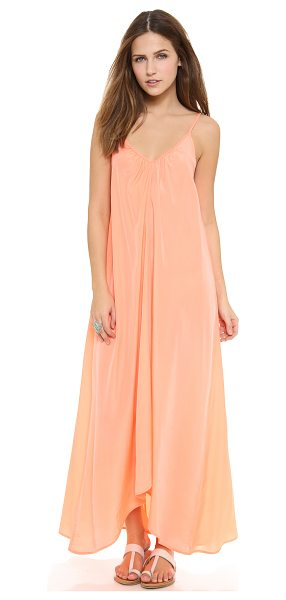 ONE by Pink Stitch one by resort maxi dress in peach - Pink Stitch, selected for Shopbop's ONE by collection...